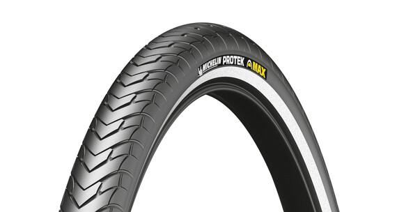 """Michelin Protek Max Opony rowerowe 28"""" drut Reflex czarny"""